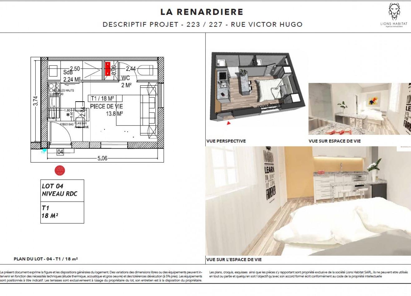 A vendre Lille 5901440 Lions habitat