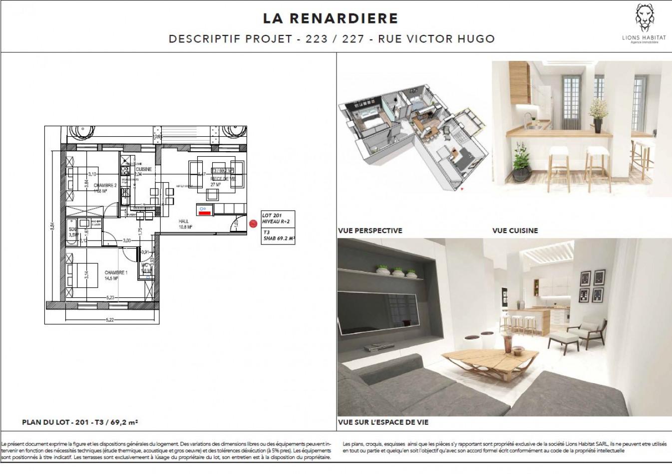 A vendre Lille 5901445 Lions habitat
