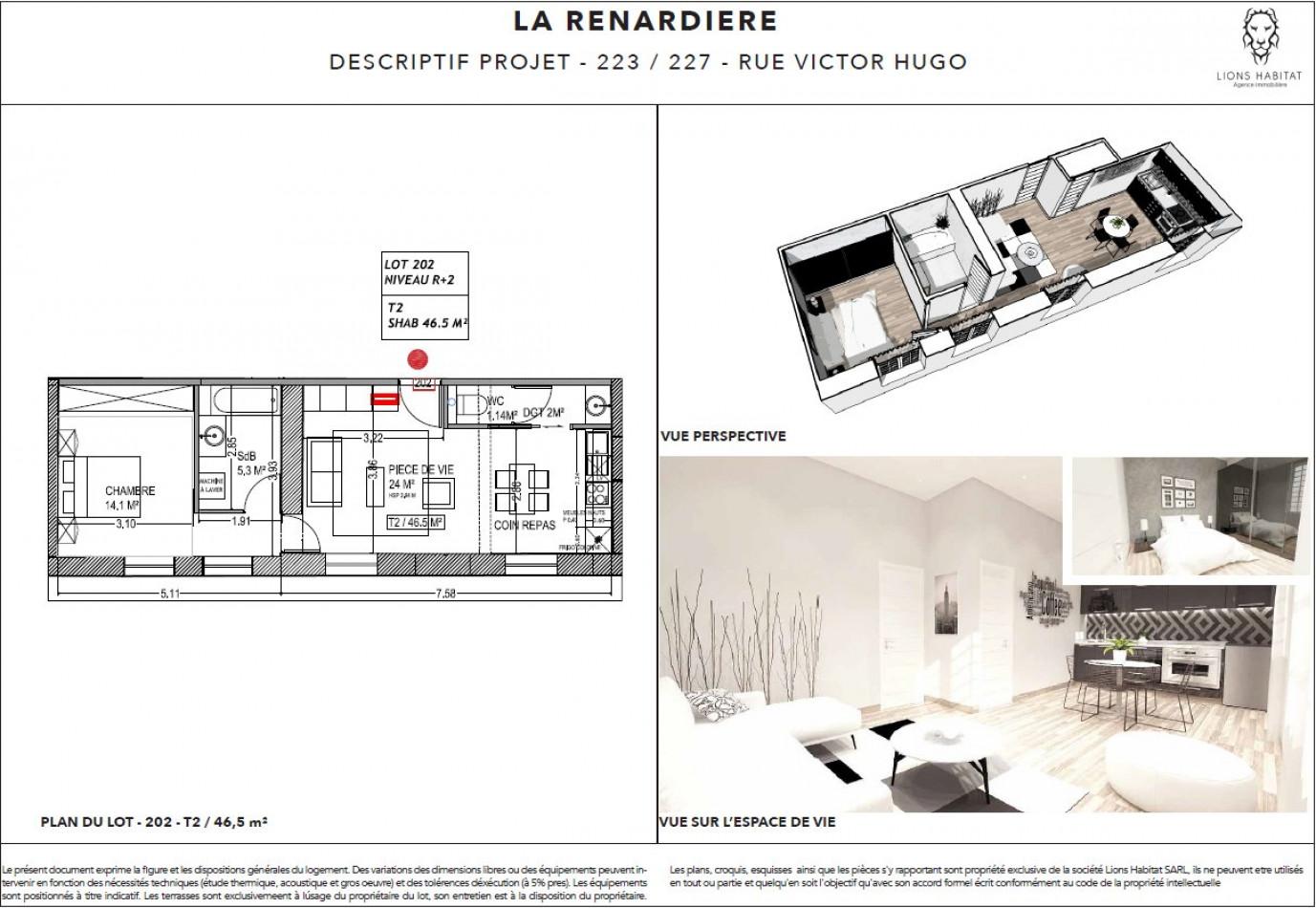 A vendre Lille 5901446 Lions habitat