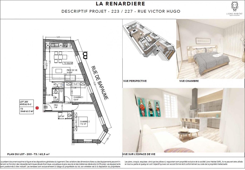 A vendre Lille 5901447 Lions habitat