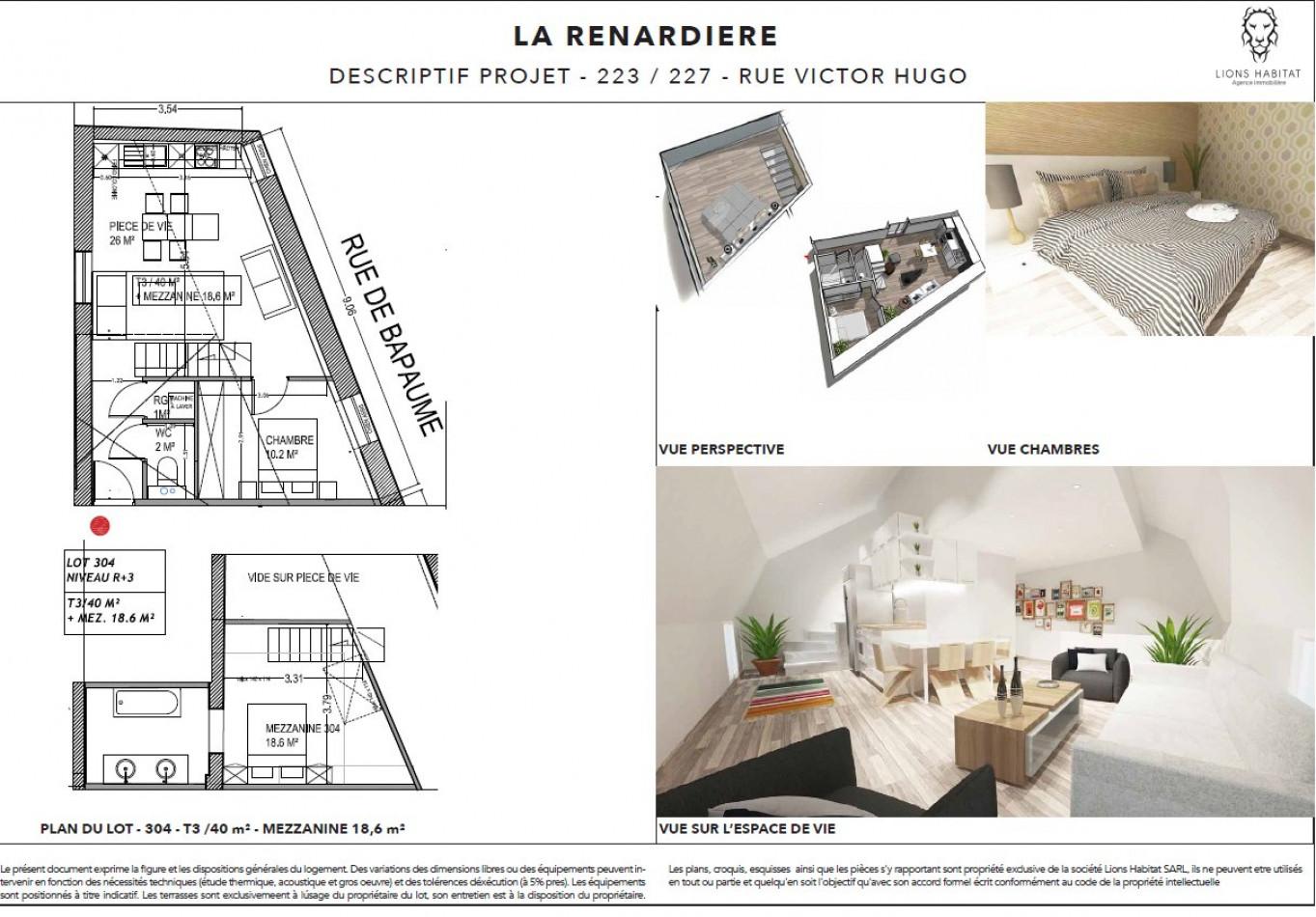 A vendre Lille 5901451 Lions habitat