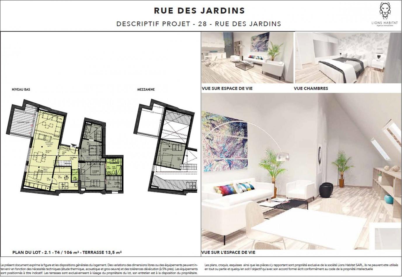 A vendre Lille 5901463 Lions habitat