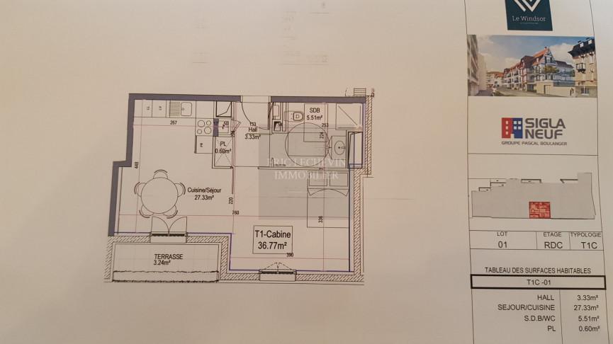 A vendre Le Touquet Paris Plage 620052023 Lechevin immobilier
