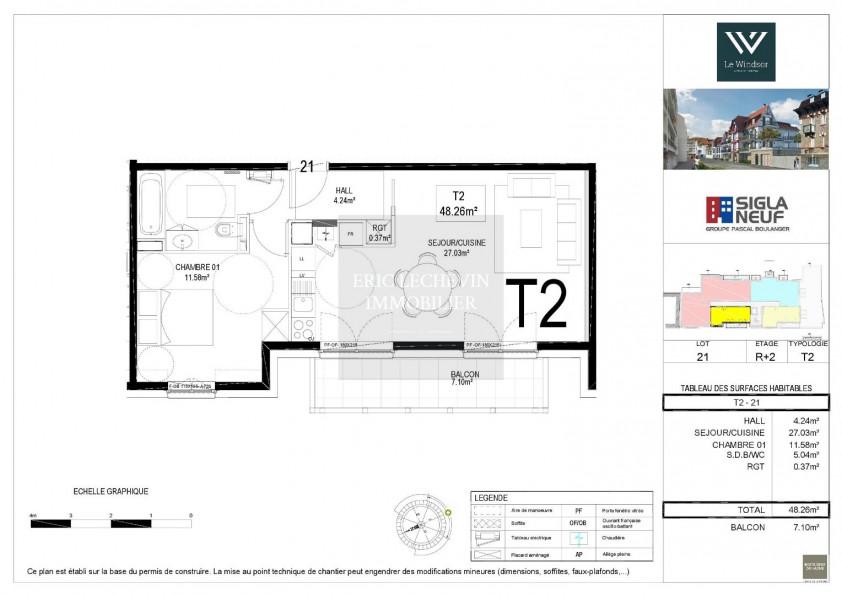 A vendre Le Touquet Paris Plage 62005758 Lechevin immobilier