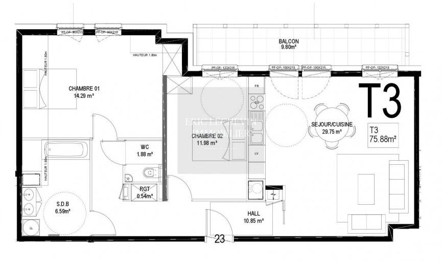 A vendre Le Touquet Paris Plage 62005760 Lechevin immobilier