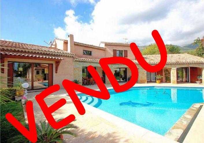 A vendre Villa Tourrettes Sur Loup   Réf 62007319 - City & sea