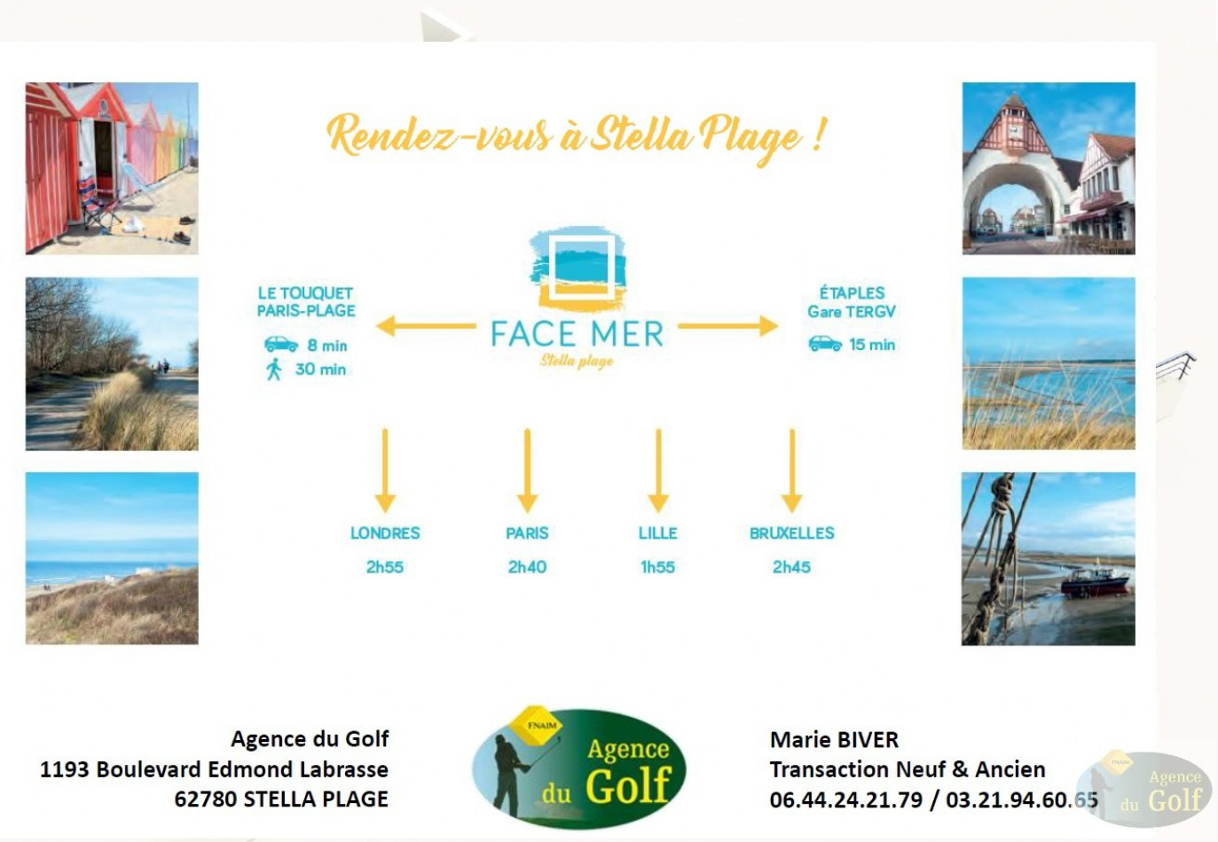 A vendre Stella 620102780 Agence du golf