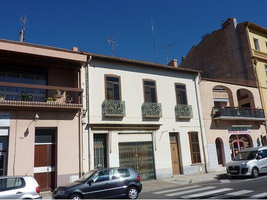 Maison de ville en vente perpignan 66 immobilier for Immobilier perpignan