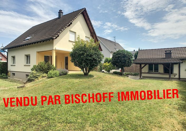 A vendre Maison Kembs   Réf 68005603 - Bischoff immobilier