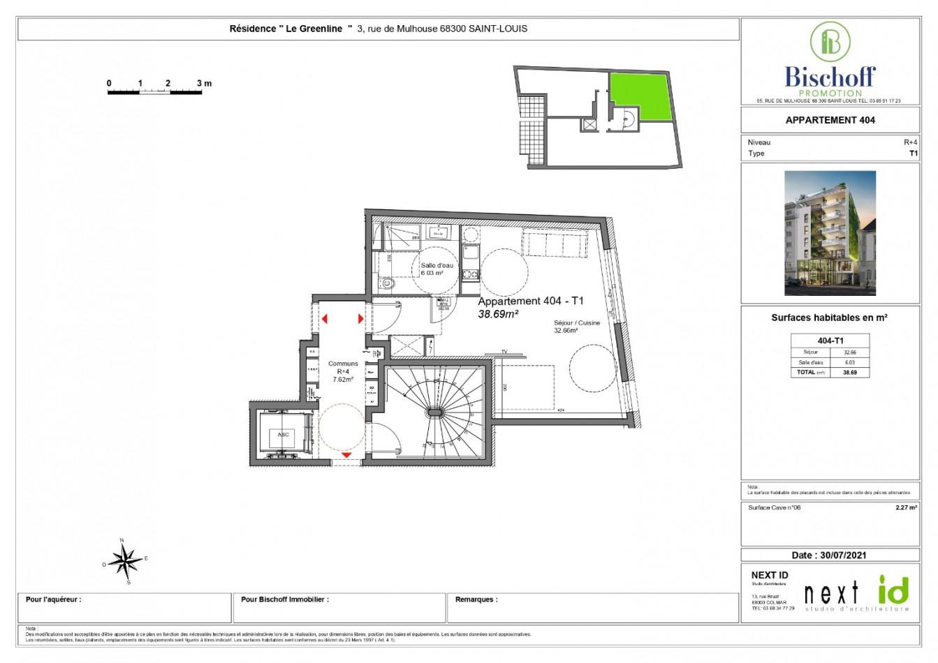 A vendre  Saint Louis   Réf 68005973 - Bischoff immobilier