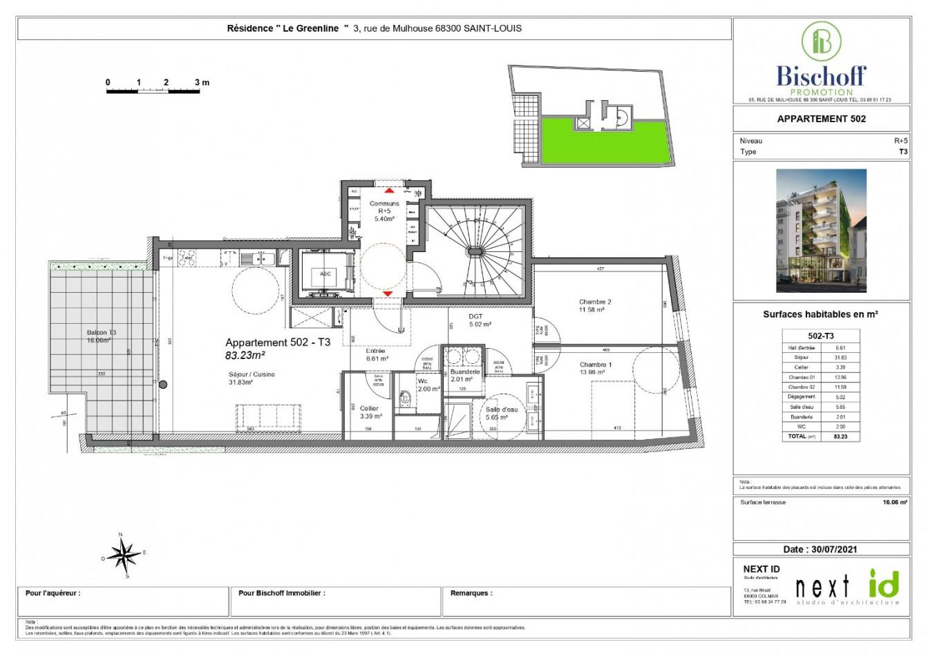 A vendre  Saint Louis   Réf 68005975 - Bischoff immobilier