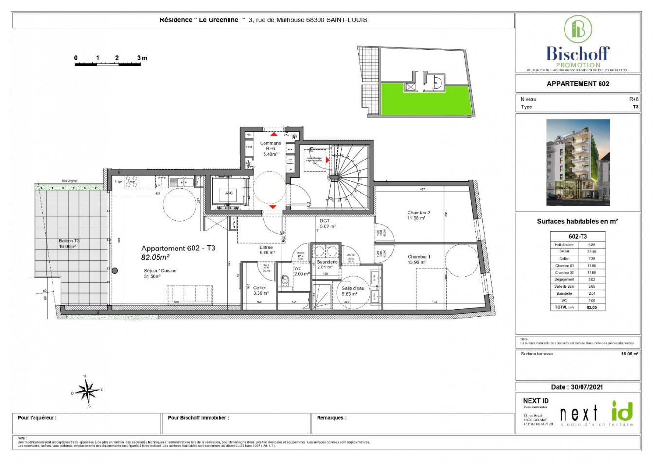 A vendre  Saint Louis   Réf 68005977 - Bischoff immobilier