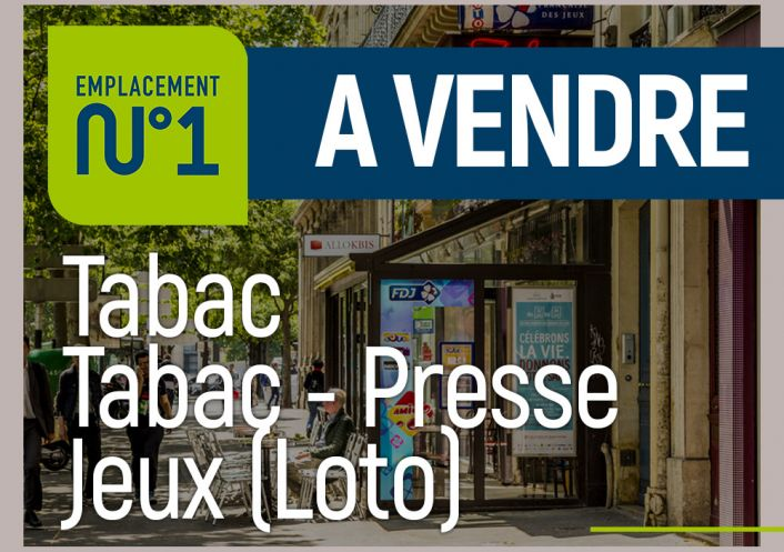 A vendre Tabac   presse Lyon 3e Arrondissement | Réf 690263234 - Emplacement numéro 1