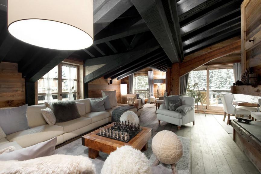 En location saisonnière Courchevel 73023303 Propriété des alpes