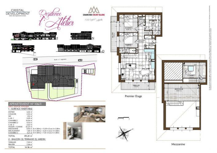 A vendre Appartement neuf Chamonix Mont Blanc | Réf 7302374 - Propriété des alpes