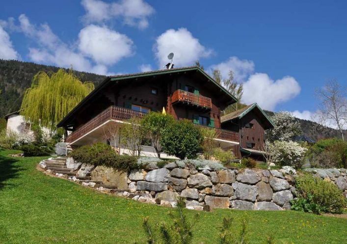 A vendre Chalet Leschaux | Réf 740061124 - Jardin privé immobilier