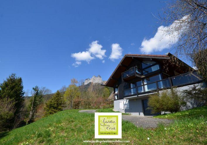 A vendre Maison à ossature bois Talloires | Réf 740062085 - Jardin privé immobilier