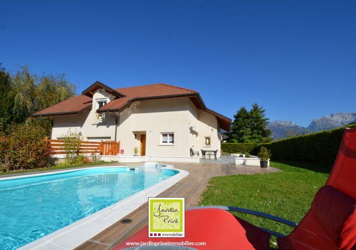A vendre Villa d'architecte Sevrier | Réf 740062559 - Jardin privé immobilier