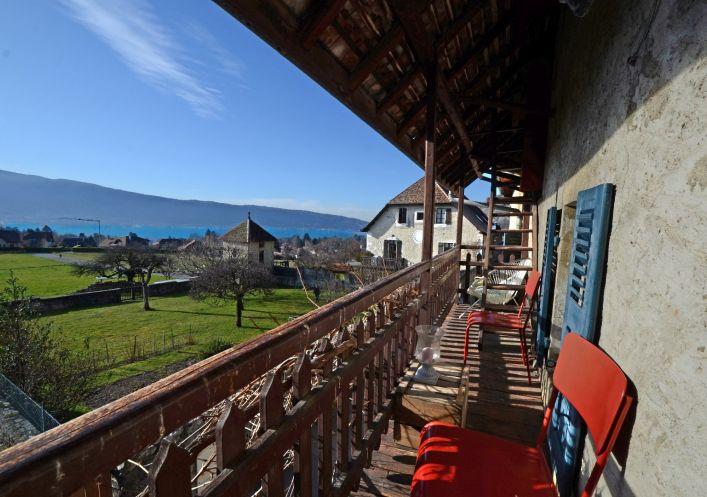 A vendre Maison de hameau Menthon Saint Bernard | Réf 740062618 - Jardin privé immobilier