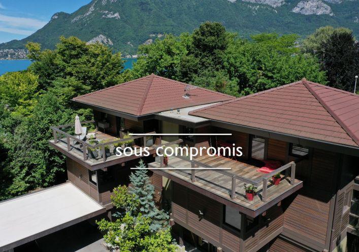 A vendre Maison contemporaine Sevrier | Réf 740062780 - Jardin privé immobilier