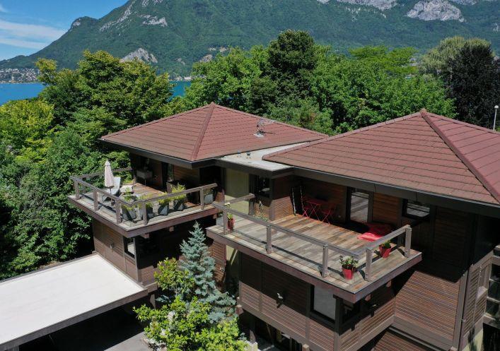 A vendre Maison contemporaine Sevrier   Réf 740062780 - Jardin privé immobilier