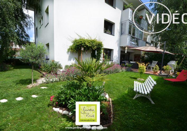 A vendre Appartement en rez de jardin Annecy | Réf 740062829 - Jardin privé immobilier