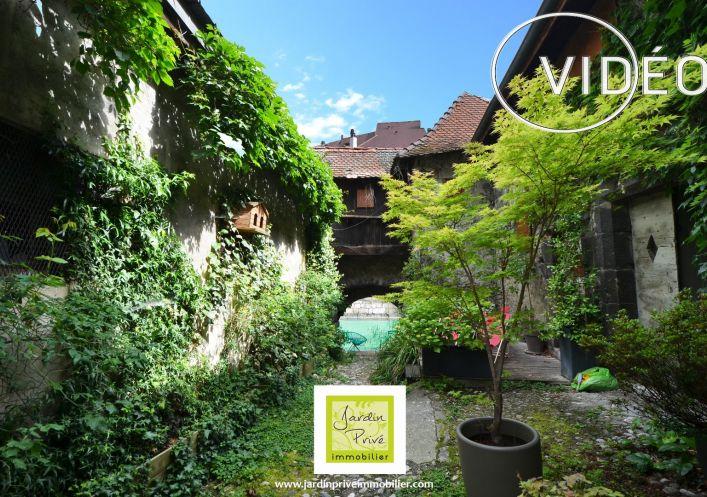 A vendre Appartement bourgeois Annecy   Réf 740062896 - Jardin privé immobilier