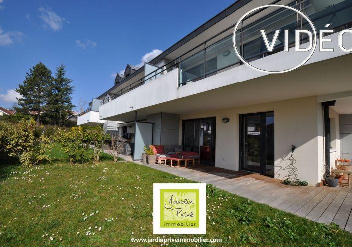 A vendre Appartement en rez de jardin Annecy Le Vieux | Réf 740062936 - Jardin privé immobilier