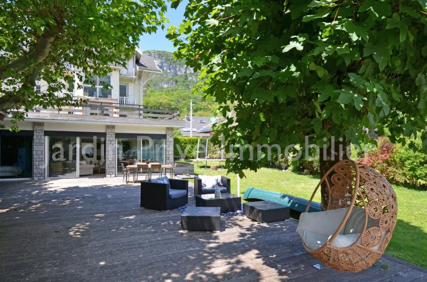A vendre  Doussard | Réf 740062977 - Jardin privé immobilier