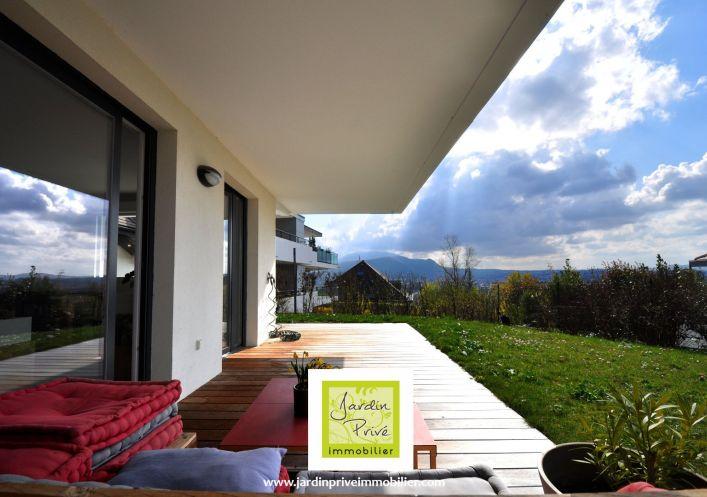 A vendre Appartement en rez de jardin Annecy Le Vieux   Réf 740062981 - Jardin privé immobilier