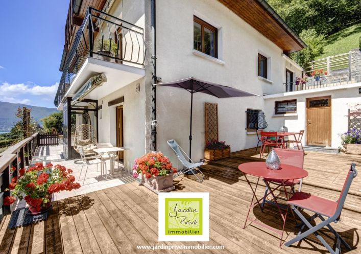 A vendre Appartement terrasse Menthon Saint Bernard | Réf 740063045 - Jardin privé immobilier