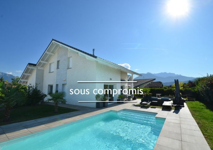 For sale Maison contemporaine Saint Jorioz   Réf 740063049 - Jardin privé immobilier