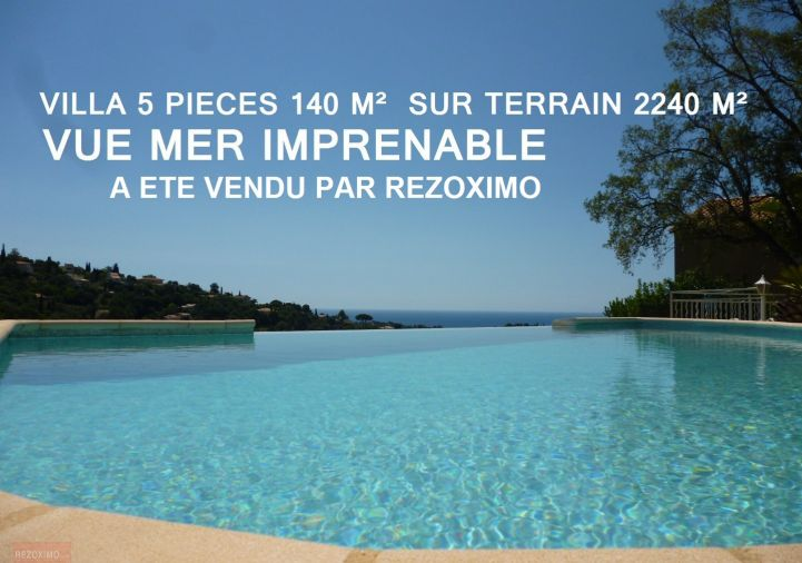 A vendre La Croix Valmer 7401413468 Rezoximo