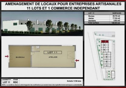 A vendre Locaux d'activité Lons | Réf 7401414353 - Rezoximo