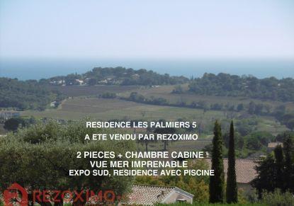 A vendre Appartement en résidence La Croix Valmer | Réf 7401418792 - Rezoximo
