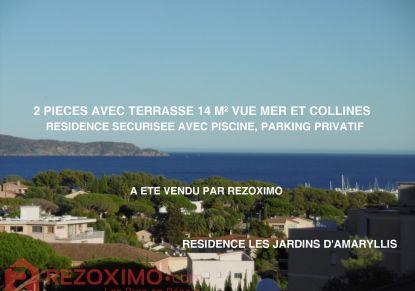 A vendre Appartement en résidence Cavalaire Sur Mer   Réf 7401419761 - Rezoximo