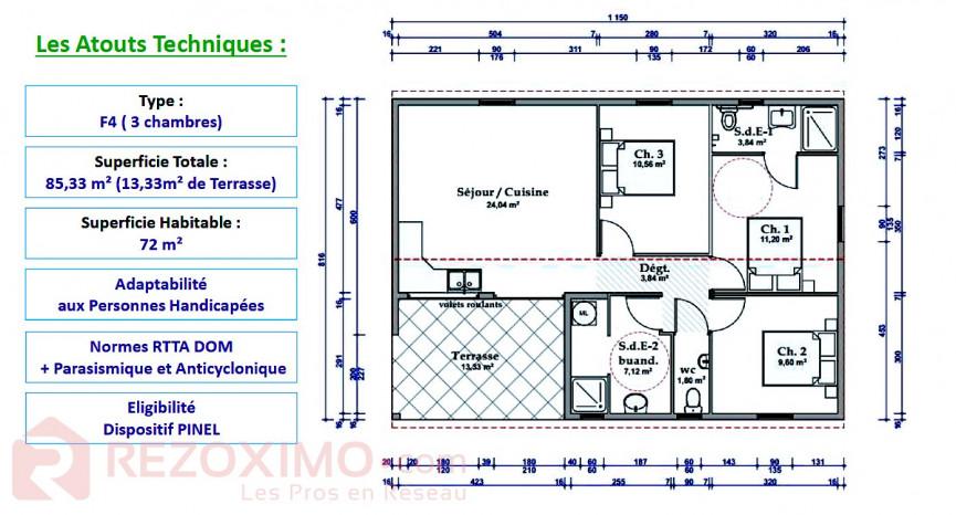 A vendre  Macouba | Réf 7401419878 - Rezoximo