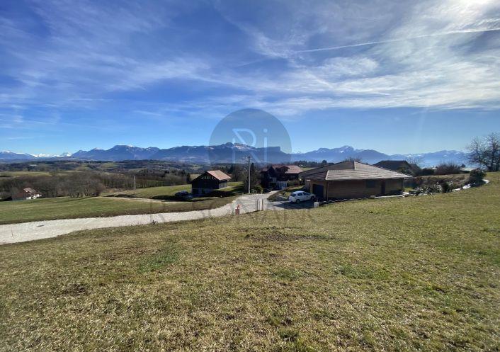 A vendre Terrain Cuvat   Réf 74023216 - Resonance immobilière