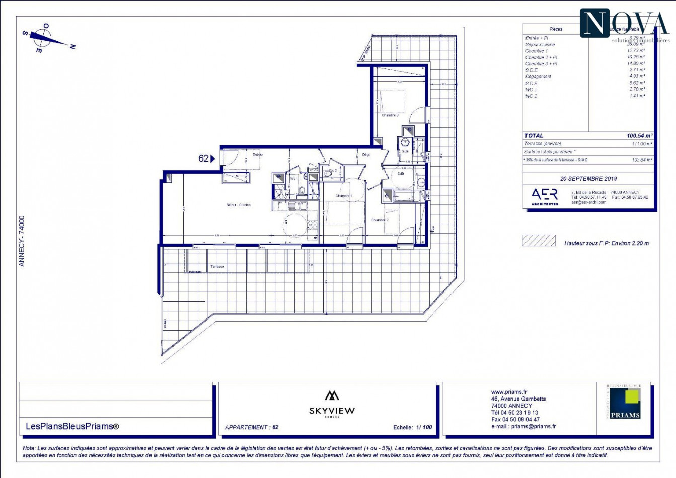 A vendre Annecy 74029154 Nova solution immobiliere
