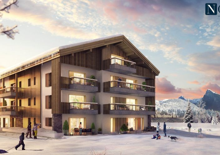 A vendre Appartement neuf Samoens | Réf 74029623 - Nova solutions immobilieres