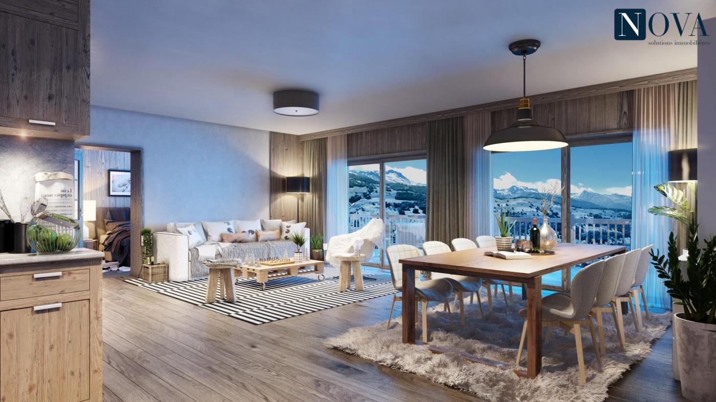 A vendre  Valmorel   Réf 74029628 - Nova solutions immobilieres