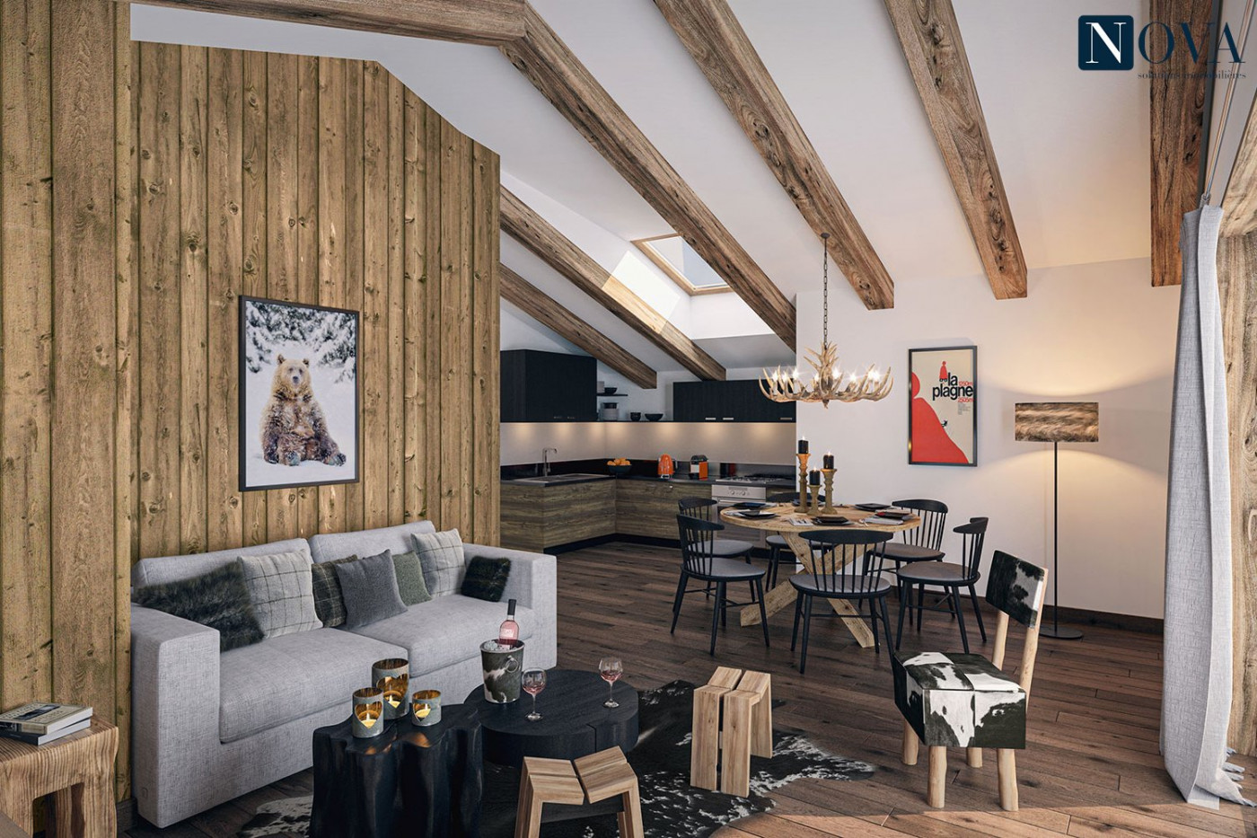 For sale  La Plagne | Réf 74029652 - Nova solutions immobilieres