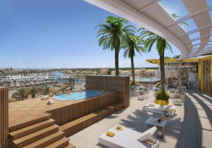 A vendre Appartement en résidence Le Cap D'agde | Réf 75008105003 - Adaptimmobilier.com