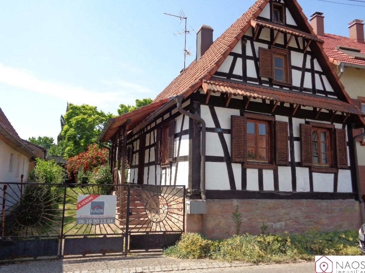 Rénover Une Maison Alsacienne vente maison de village wissembourg, 90m² 5 pièces 132 000€