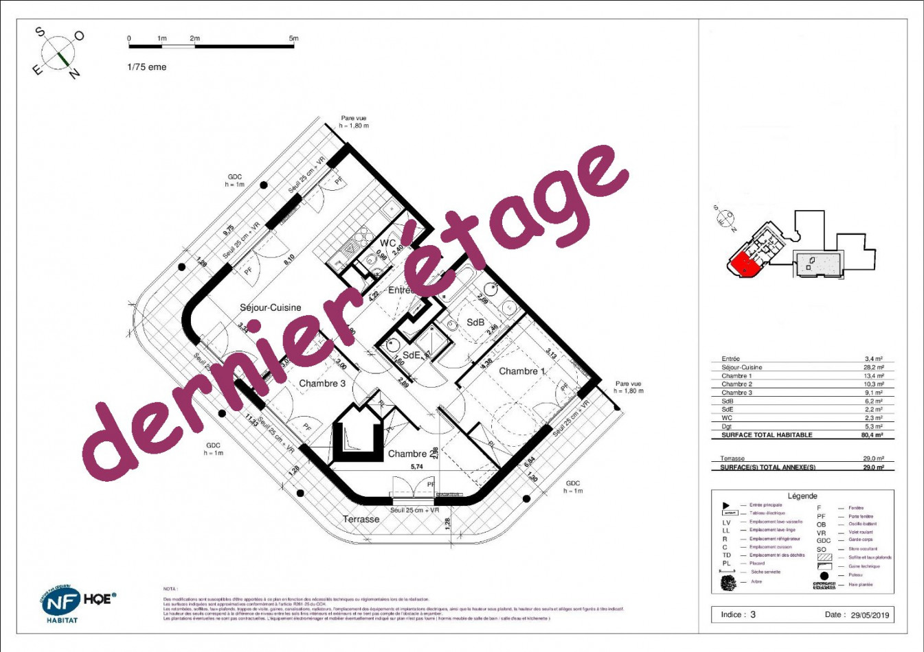 A vendre Rueil Malmaison 7500867016 Naos immobilier