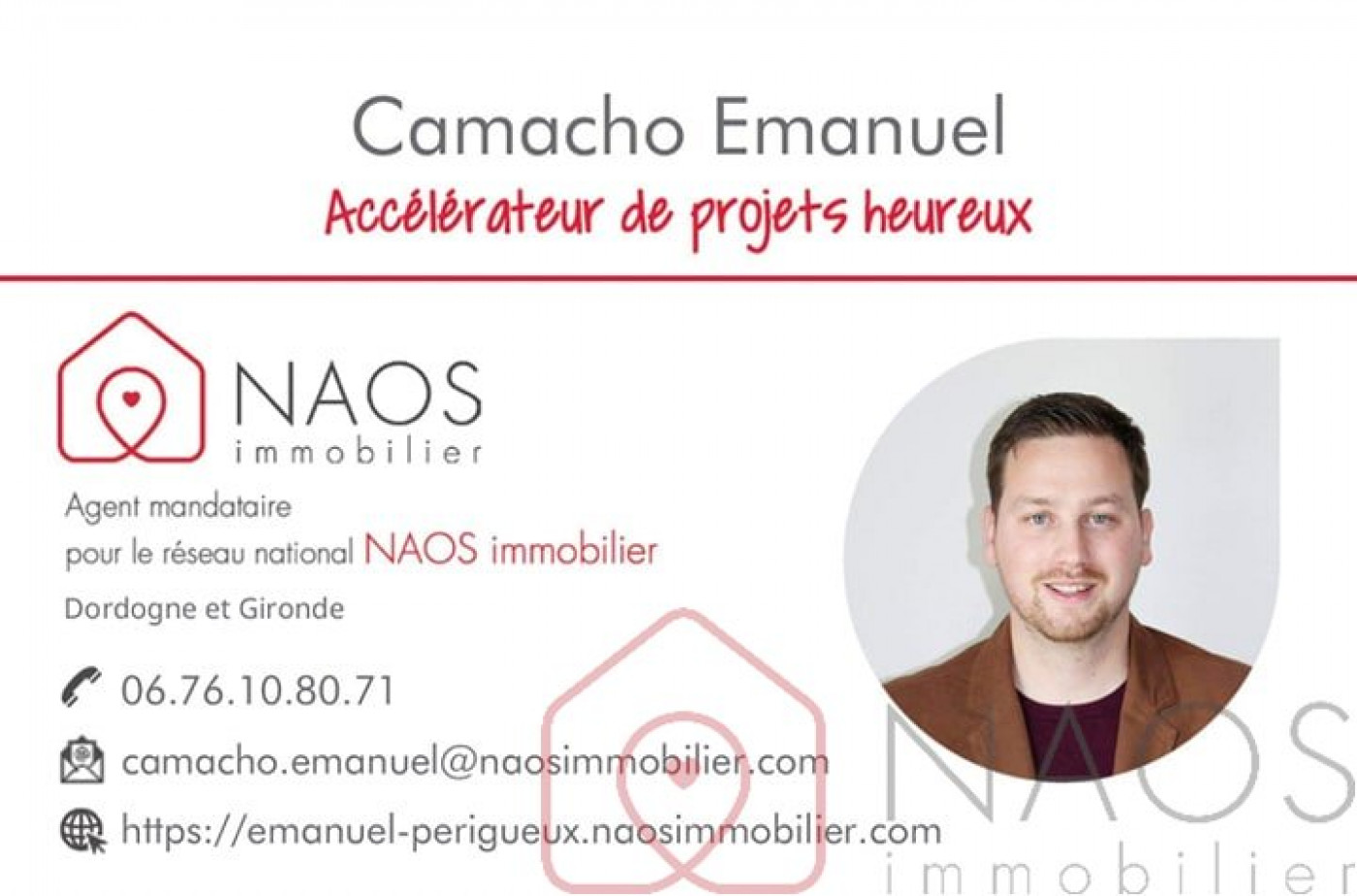 A vendre  Leguillac De L'auche | Réf 7500896896 - Naos immobilier