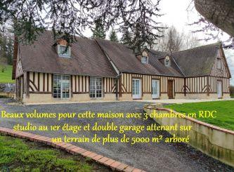 A vendre Maison de caractère Lisieux | Réf 75011106651 - Portail immo