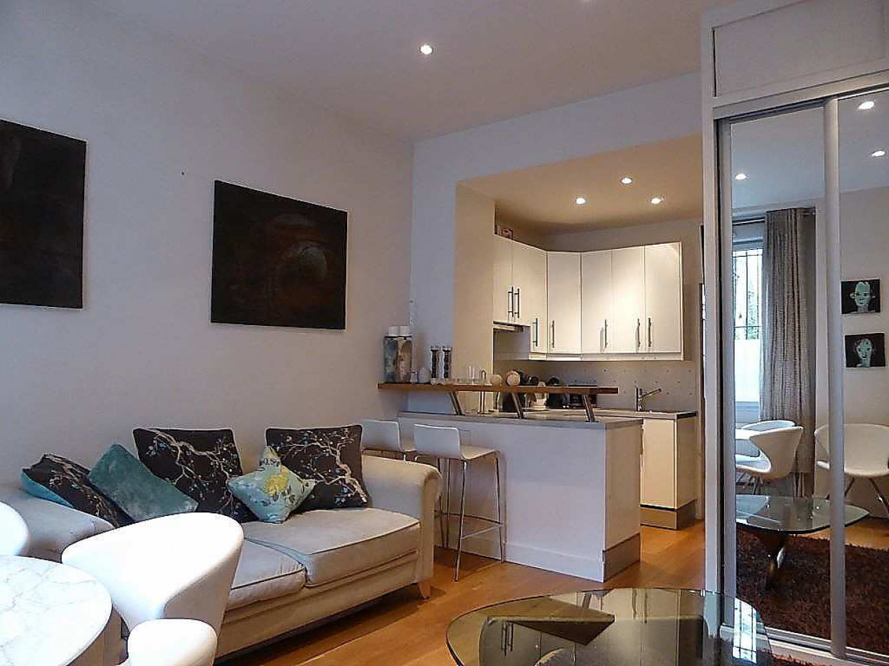Vente appartement en rez de jardin paris 17eme arrondissement 38m 2 pi ces 365 000 - Rez de jardin paris ...