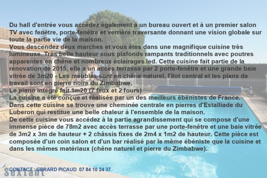 A vendre Saint Georges D'esperanche 7501154226 Sextant france