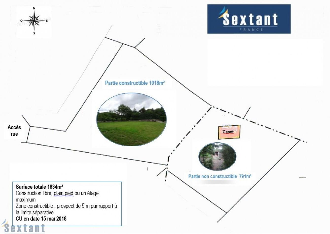 A vendre Molitg Les Bains 7501158025 Sextant france